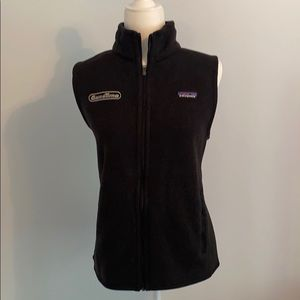 NWT Deep Heathery charcoal knit Patagonia vest